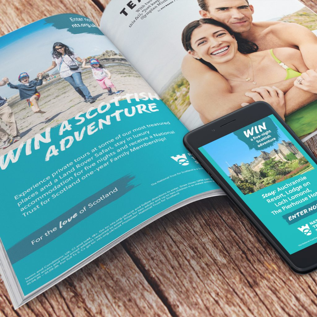 National Trust for Scotland Summer Campaign