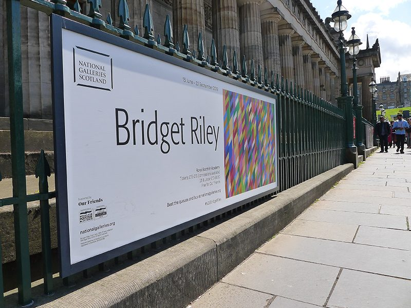 Bridget Riley at the Scottish National Gallery
