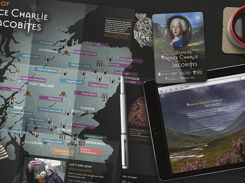 On the Trail of Bonnie Prince Charlie and the Jacobites