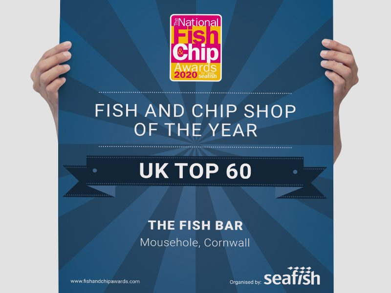 Poster for National Fish and Chip Awards